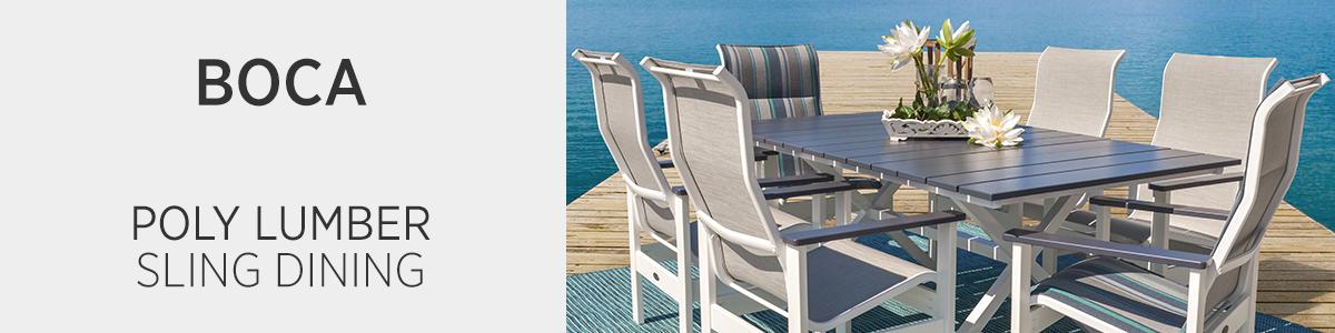 Boca Poly Lumber Seating & Dining