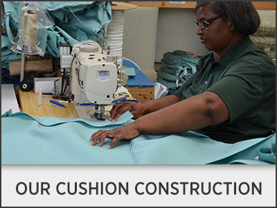 Our Cushion Construction