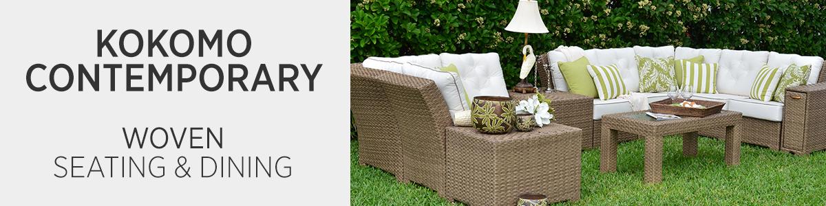 Kokomo Contemporary Woven Seating & Dining