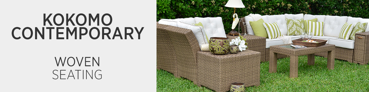 Kokomo Contemporary Woven Seating