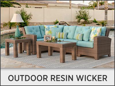 Outdoor Resin Wicker