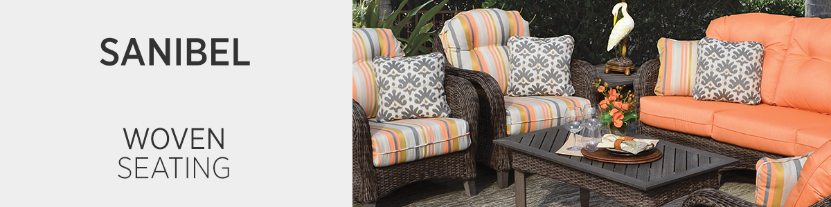 Sanibel Woven Seating