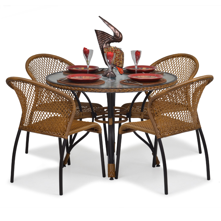 Outdoor Resin Wicker Patio Set